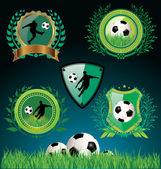 Fotografie Soccer - football background