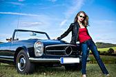 Fotografie klasické auto