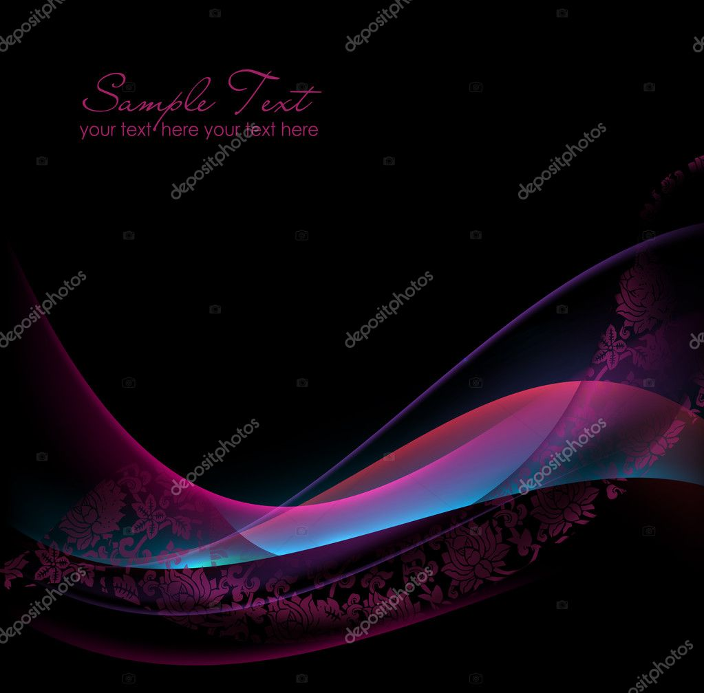 Abstract Elegant Vector wave