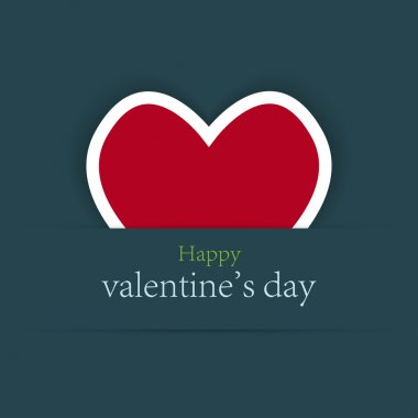 Valentine's day background with place for your test clip art vector