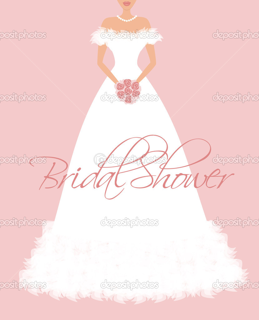 Bridal shower stock vector ivaleks 9748297 Who gives the bridal shower for the bride