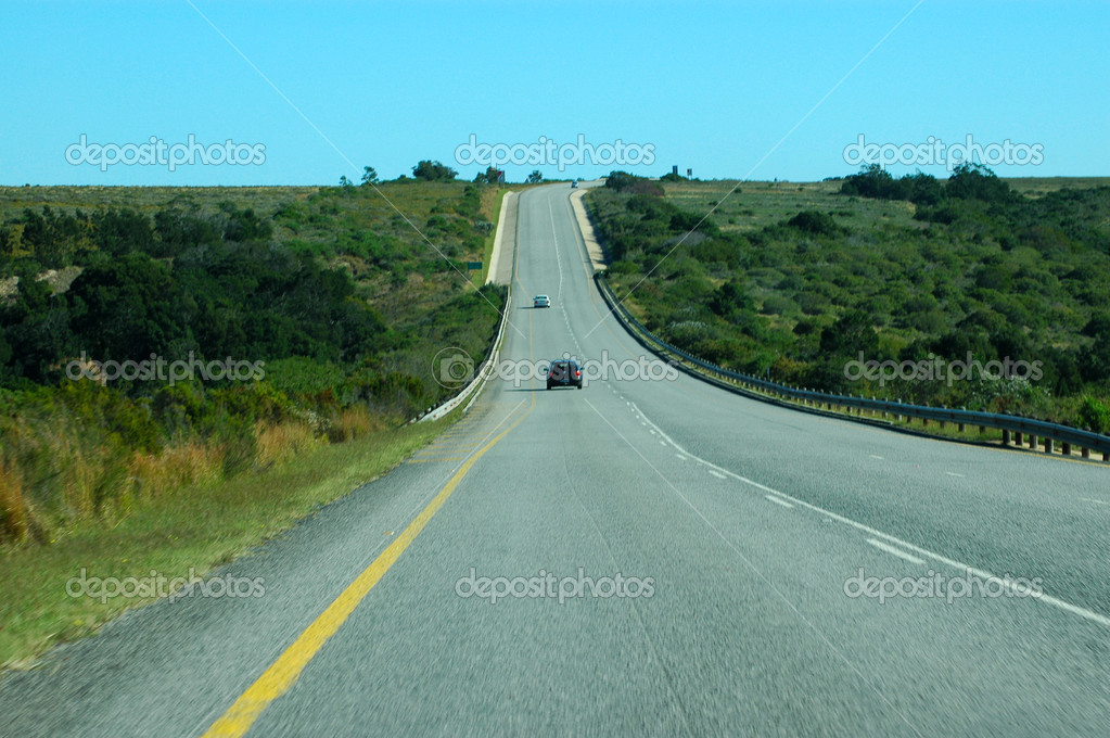 African Freeway - country road
