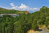 V horách na Krymu