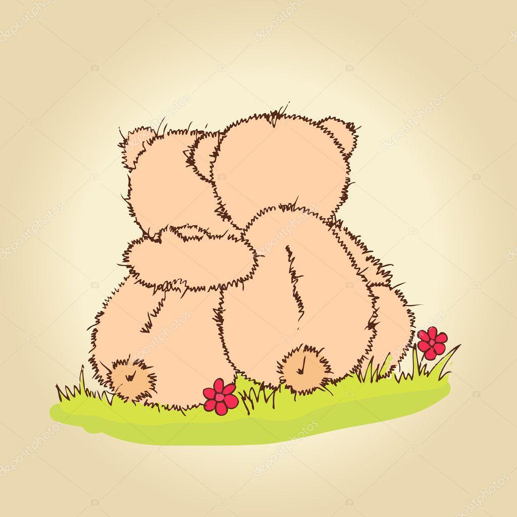 Abrazo De Oso Animado