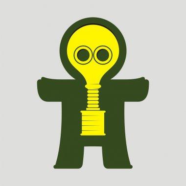 Homunculus. # 10 (gas mask)