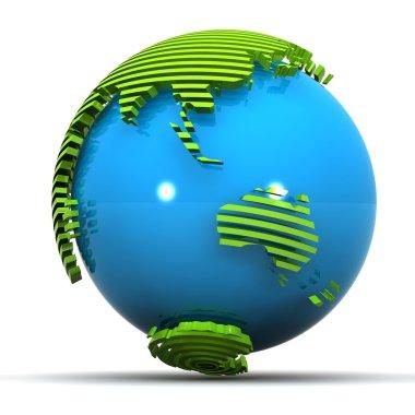 Australia Globe
