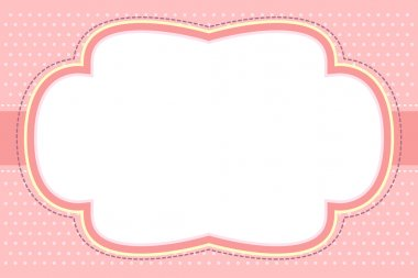 Ornate Pink Bubble Frame
