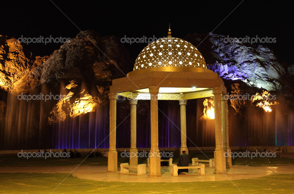 Pavilion in Muscat, Sultanate of Oman — Stock Photo