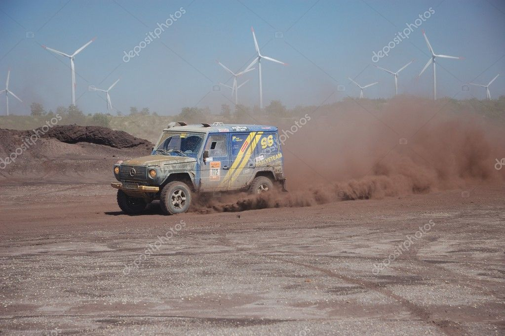 Mercedes Benz G Class at offroad rally competition – Stock Editorial ...