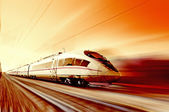 Fotografie High-speed train