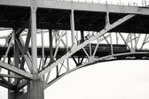 Fotografie Brücke-abstrakt