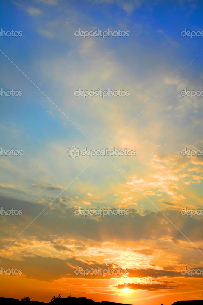 Фотообои Sun Set