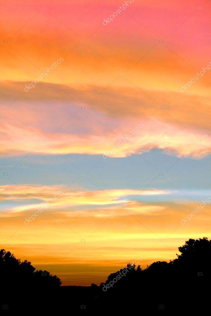 Фотообои Sun set shot