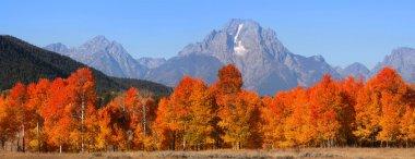 Grand Tetons national mountain range