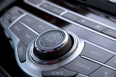 Car audio controls