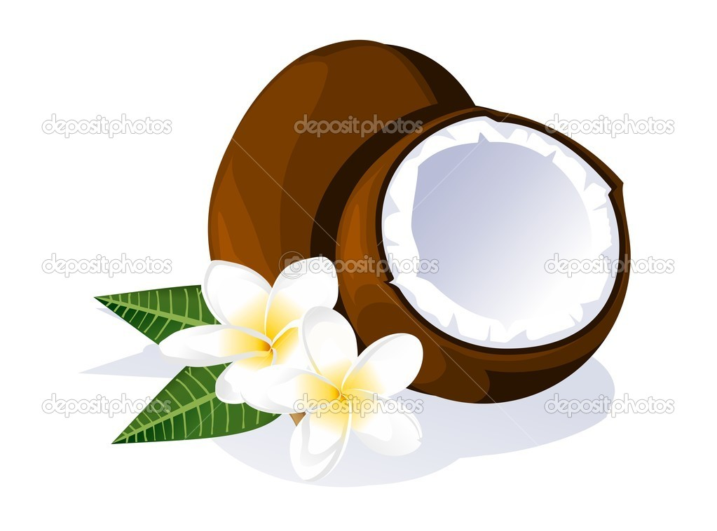 Coconut and plumeria
