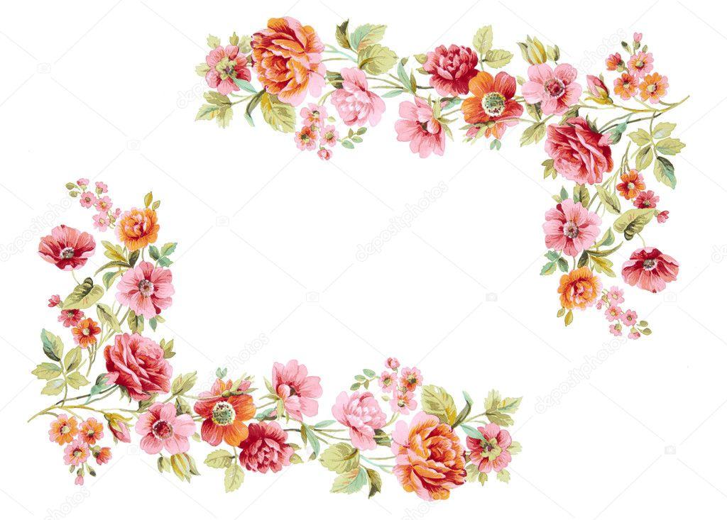 Cornice fiori foto stock alephcomo 9398548 for Immagini di fiori dipinti