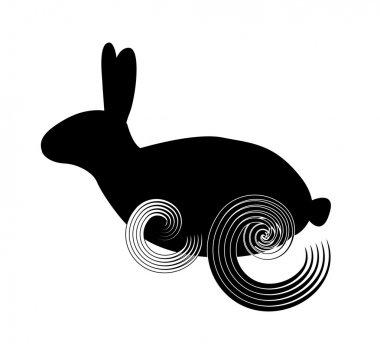 Rabbit curly