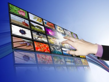 Touch-screen communications, technology and development