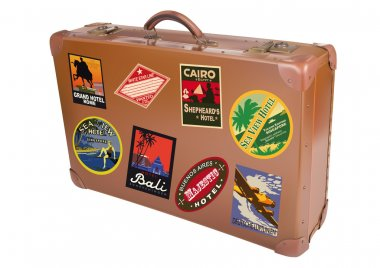 World traveler suitcase