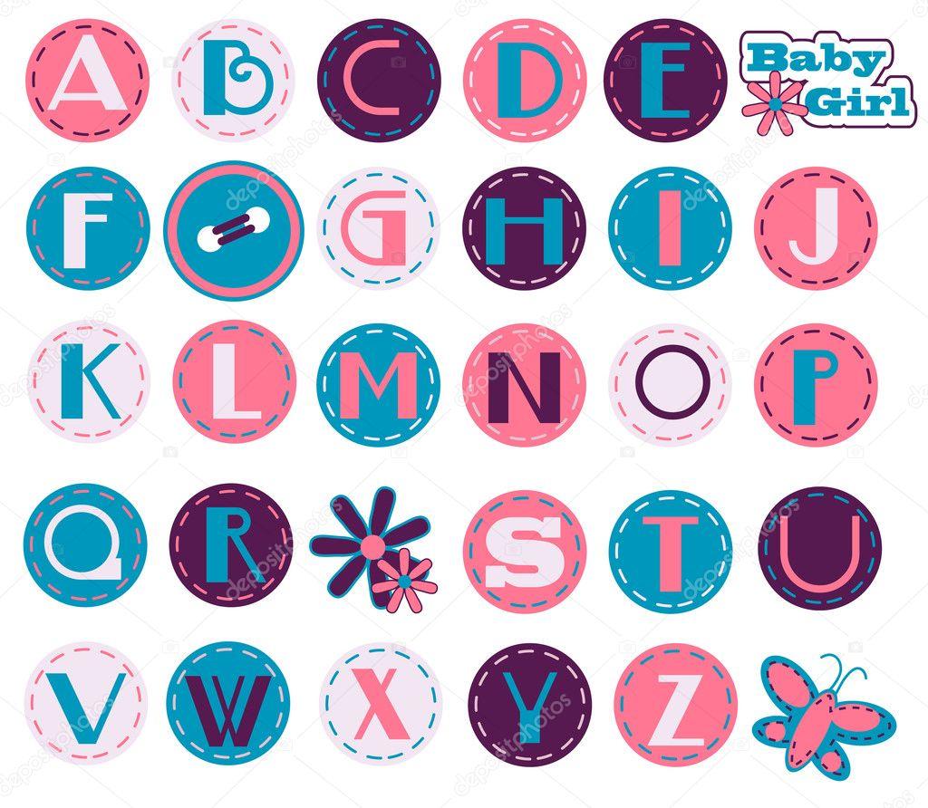 Alphabet Set - Girl