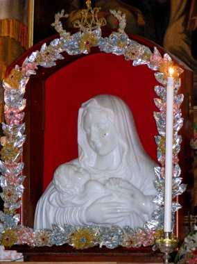 The Crying Madonna