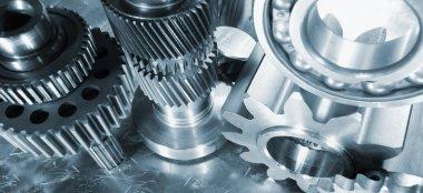 Aerospace, rocket titanium parts