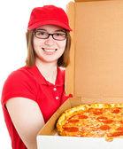dívka Rozváží pizzu