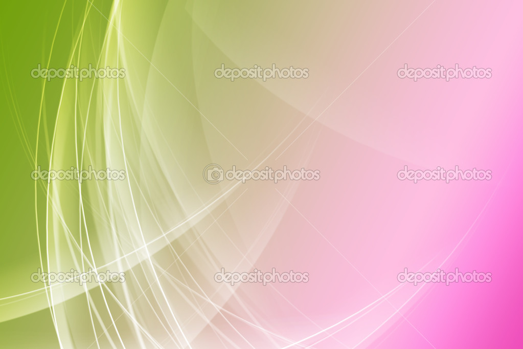 green and pink abstract background � stock photo