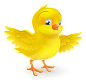 niedlich glücklich kleines gelbes Osterküken