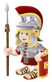 kreslený římský voják