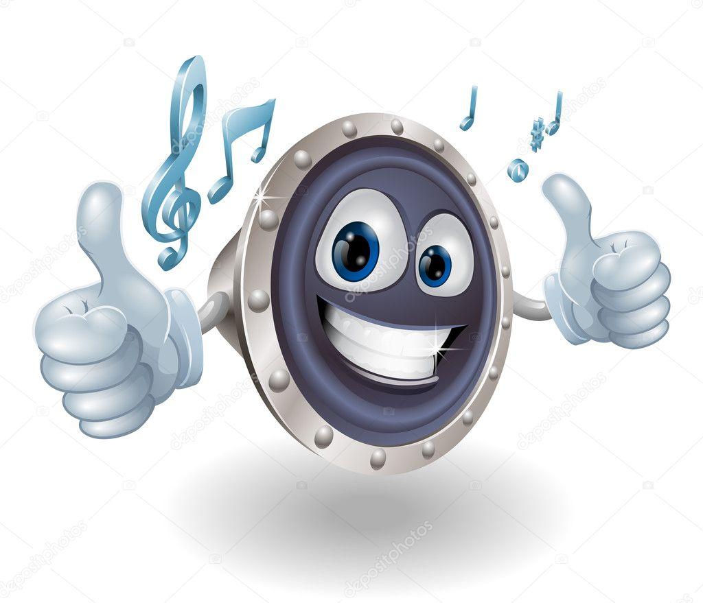 Znalezione obrazy dla zapytania głośnik clipart