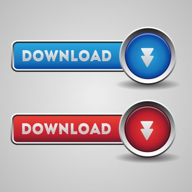 Download buttons red and blue