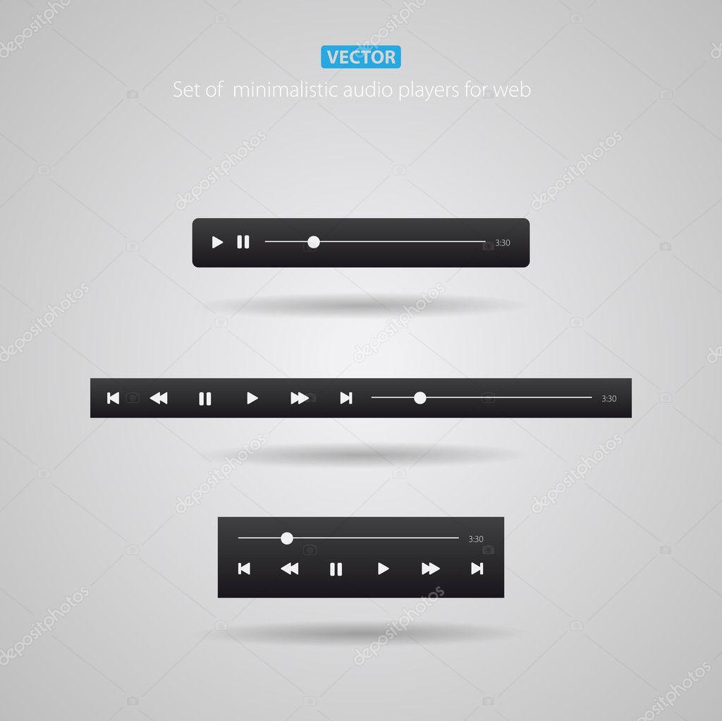 Web audio player