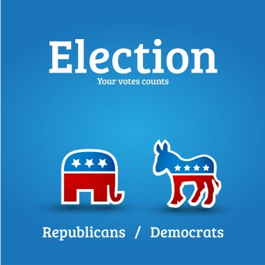 Presidental election - republicans and democrats