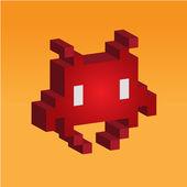 Régi pc játék - Space invader