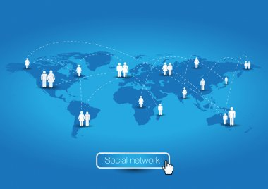 Social network - global community