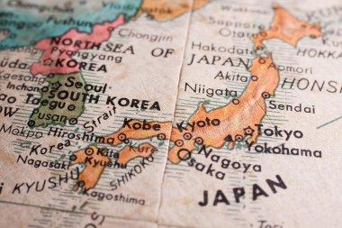 Japan map view
