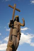 obrázek s křížkem na modré obloze v hřbitov svitavy