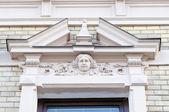 okna v historických budov, svitavy, Česká republika