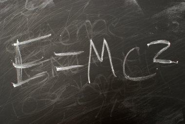 E=mc2 In Chalk