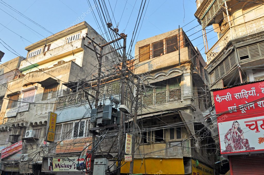 Remarkable Electrical Wiring In Old Delhi India Stock Photo C Johnnydevil Wiring Digital Resources Remcakbiperorg