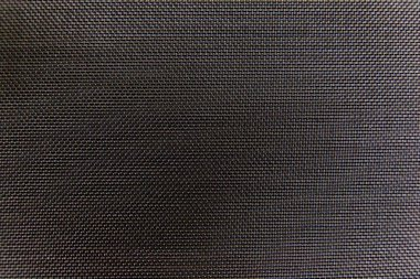 Black grille cloth
