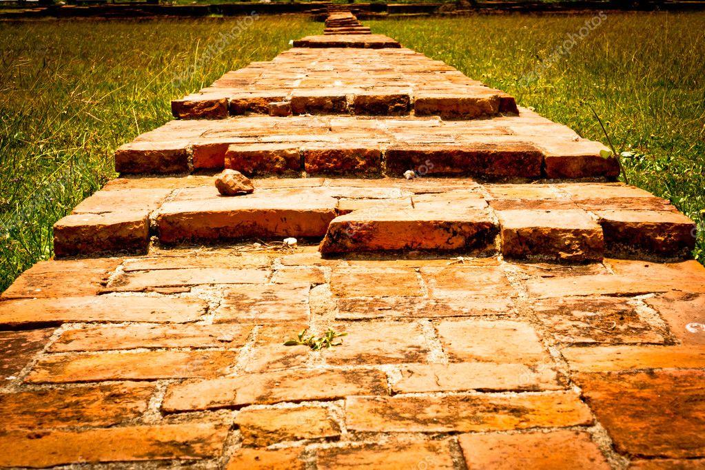 Brick red texture