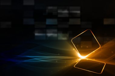 Abstract technologic background
