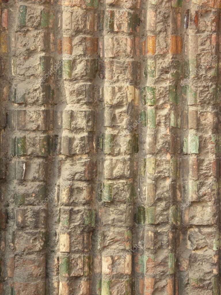 Gothic Wall Texture Stock Photo