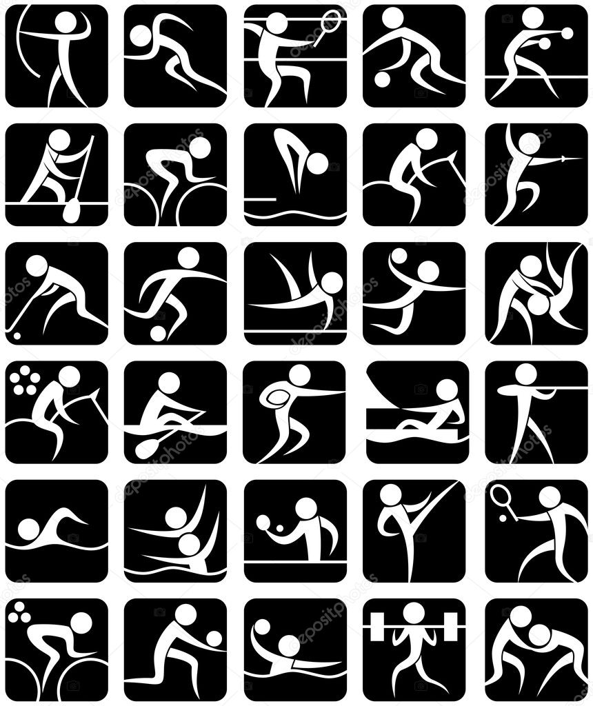 Summer Sports Symbols
