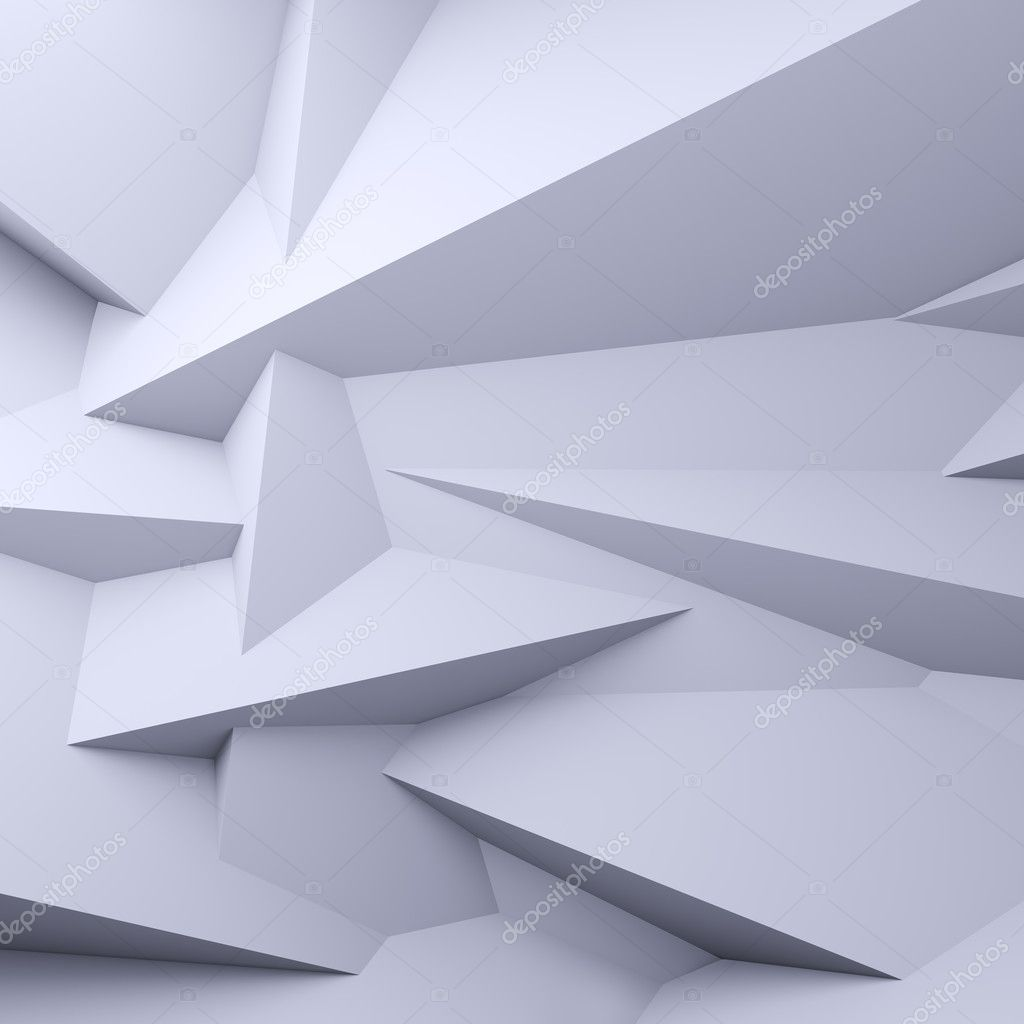 Faceted background.