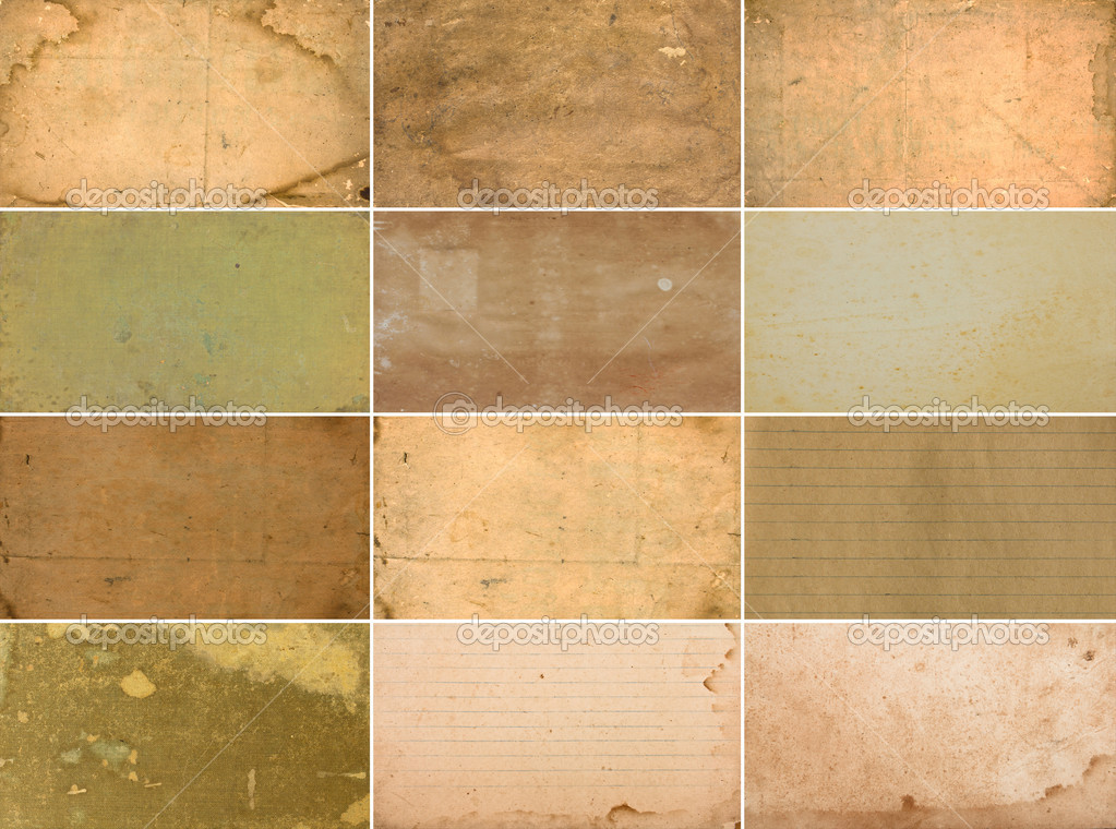 Collection of vintage paper