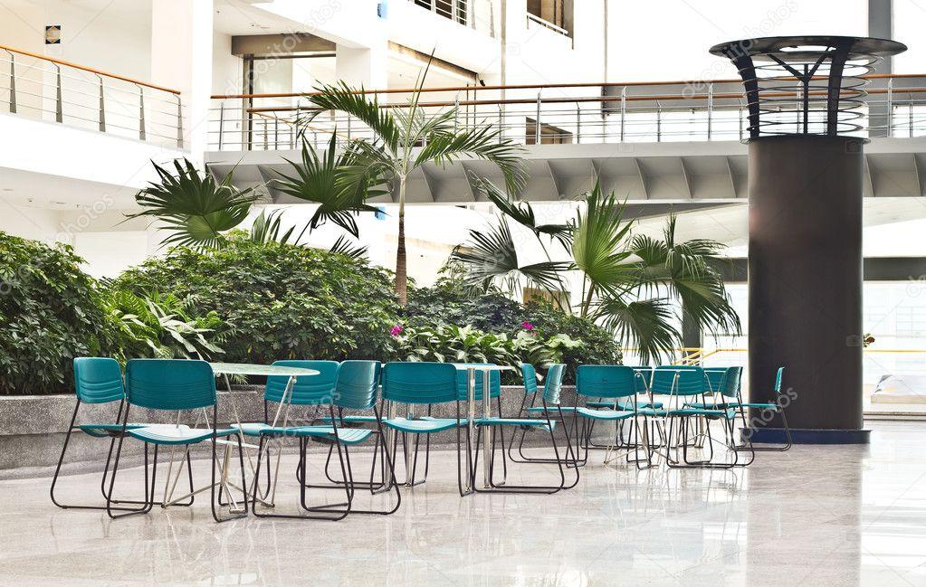 Foto de espacios interiores de la zona de relax en la for Oficinas enterprise